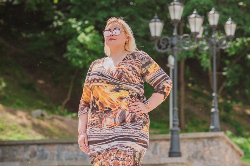print-plus-size-dress