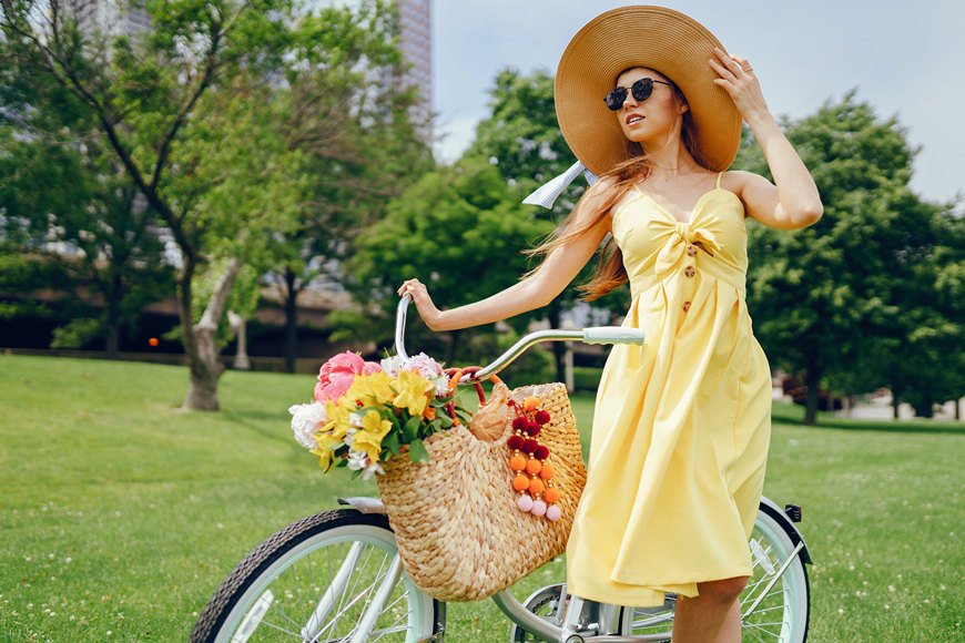 yellow-short-dress