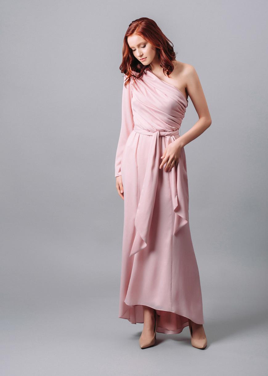 Asymmetrical-party-dress