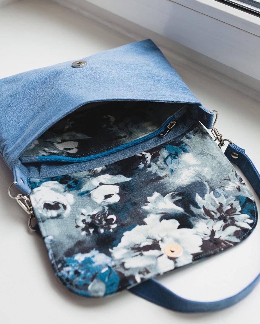 Denim-handbag