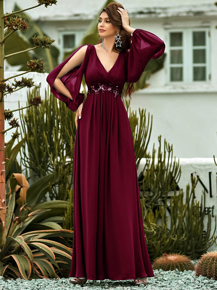 Long-Sleeve-Bridesmaid-Dresses