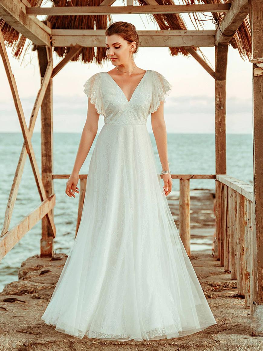 White-Maxi-Bridesmaid-Dress