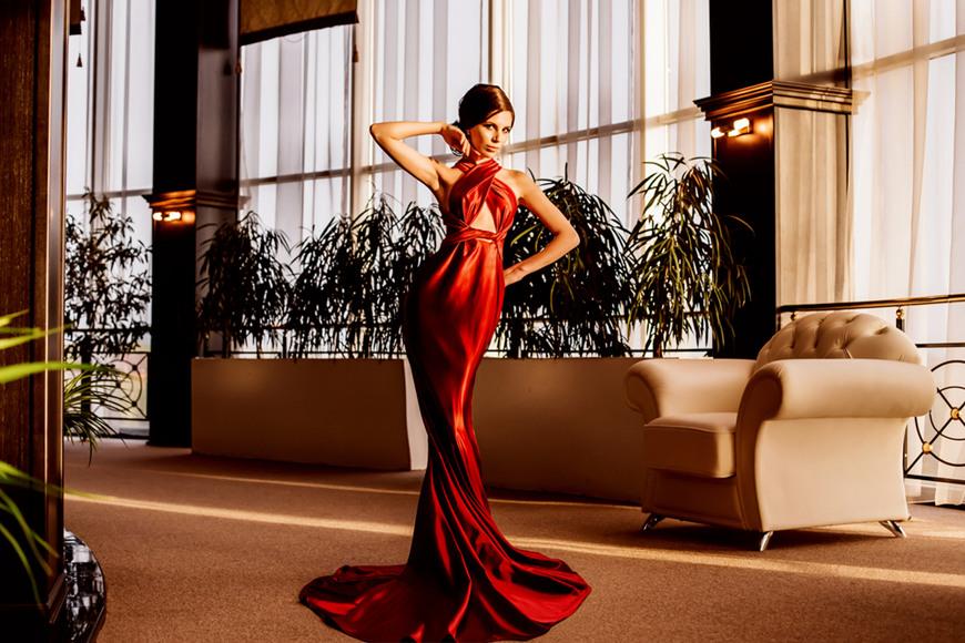 Fishtail-Cut-Dress