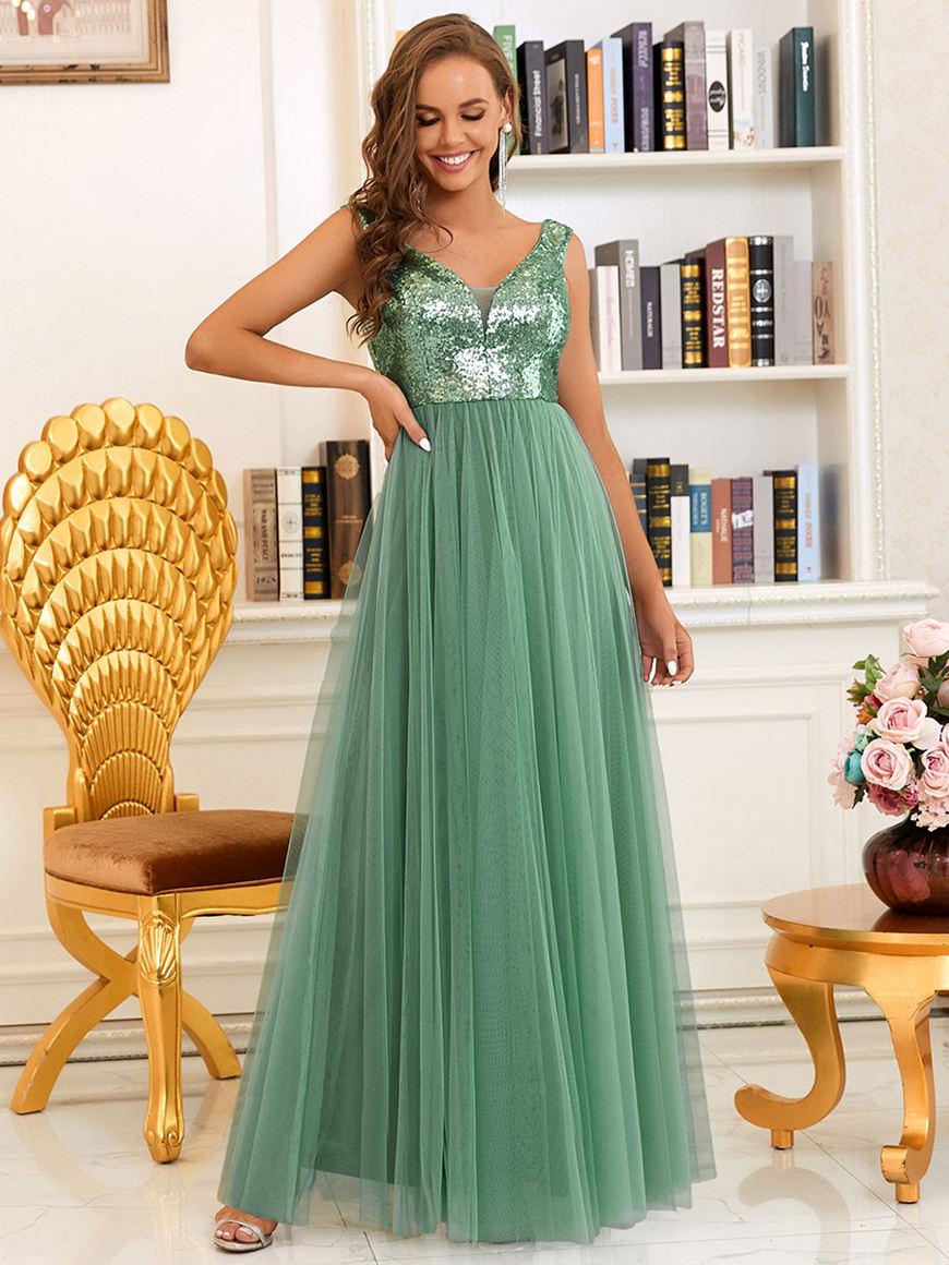Off-Shoulder-Tulle-Evening-Dress
