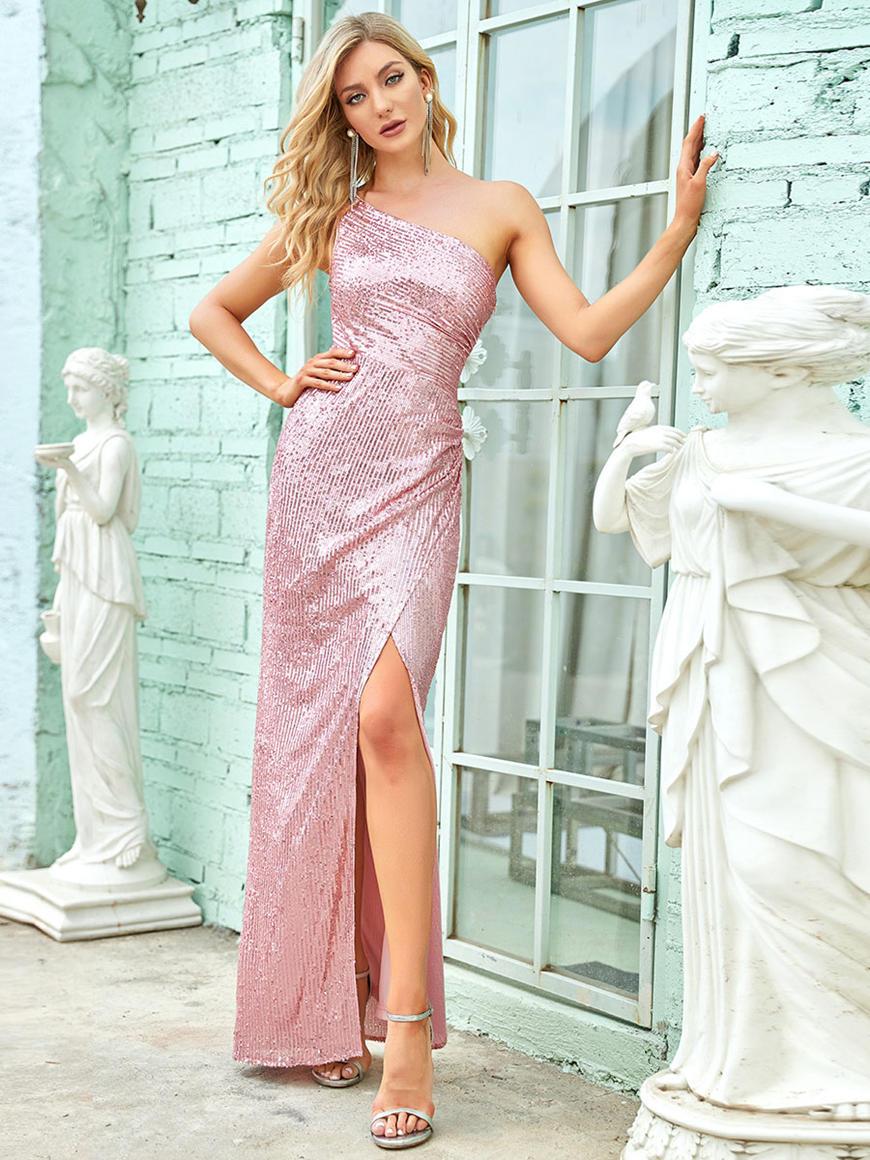 One-Shoulder-Long-Evening-Dress